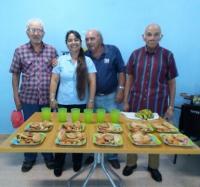 Actividades con los integrantes del Geroclub en el Palacio de las tecnologías