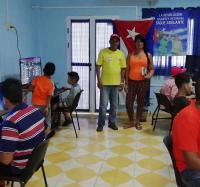 Se realiza recorrido de la Comisión que se crea en Campechuela para declarar los Centros en 26
