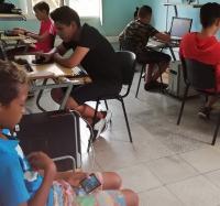 Se celebraron festivales de videojuegos en el Joven Club Campechuela II en saludo al cumpleaños 93 del Comandante en Jefe Fidel Castro Ruz