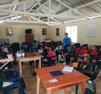 Actividad de impacto en comunidad montañosa de Vega Grande