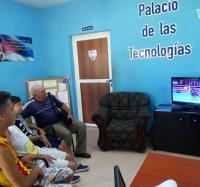En el Palacio de las tecnologías los clientes disfrutan los Panamericanos Lima 2019