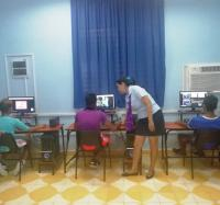 Jornada de promoción del portal de videojuegos LUDOX en el Joven Club Campechuela 1