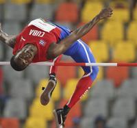 Luis Zayas se lleva el oro en el salto de altura