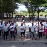 Abanderamiento de los «Jóvenes 60 aniversario» en la Comunidad «Vado del Yeso»
