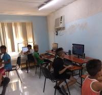 Actividades de verano en el Joven Club Manzanillo IV