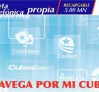 Venta de Tarjetas Propia y Cupones de ETECSA en los Joven Club de Computación del municipio Río Cauto