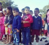 Homenaje de los pequeños a José Martí en la Localidad Grito de Yara