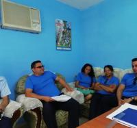Sesiona Consejo de Dirección de  los Joven Club de Cauto Cristo