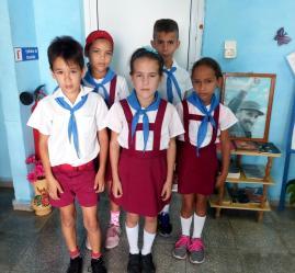 Charla sobre uso de las TIC en la Educación primaria - Joven Club Granma