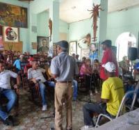 En el JC Manzanillo III recuerdan a Juan Almeida Bosque