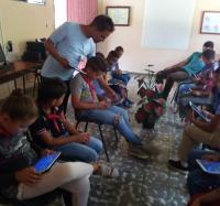 Concluye satsfactoriamente curso de tablet en Aula Anexa de La Estrella