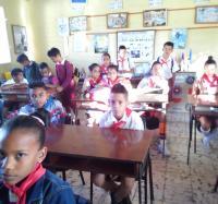 Joven Club Bartolomé Masó II inicia el trabajo con niños sobre temas relacionados con la Robótica