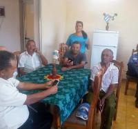 El Joven Club de Computación en Bartolomé Masó  apoya el trabajo  con el adulto mayor.