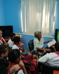 Círculo de interés en Bayamo VI - Joven Club Granma