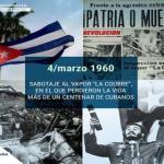 Recuerdan en el Joven Club Campechuela 1 aniversario 60 del sabotaje al vapor La Coubre