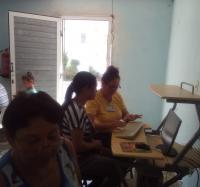 Curso de operador de micro en Joven Club Río Cauto II