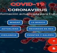 Disponible en Joven club de Bartolomé Masó la aplicación COVID-19.