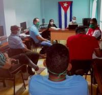 Se desarrolla en Campechuela reunión de la División Territorial de Copextel Granma