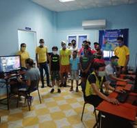 Los Joven Club de Campechuela celebraron el Día de los Niños