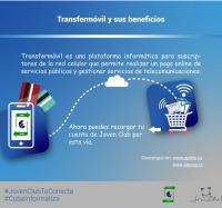 Recarga la cuenta de usuario de Joven Club a través de Transfermóvil …