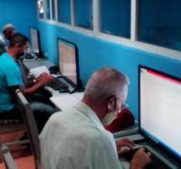 Curso de Power Point en el Palacio de Computación y Electrónica Granma.