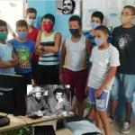 En Buey Arriba se rinde homenaje a Camilo y Che