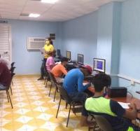 Inicia curso de Microsoft Windows y Word en el Joven Club Campechuela 1.