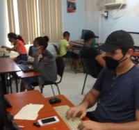 Actividad en el Joven Club Manzanillo IV