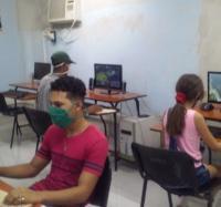 Actividades en saludo la Jornada Camilo – Che en el Joven Club Manzanillo IV