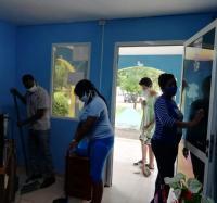Jornada de Seguridad y Salud en el trabajo en los Joven Club de Bayamo.