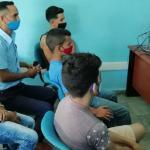 Trabajadores y clientes de Joven Club Buey Arriba participan en curso virtual de Robótica Educativa