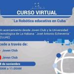 Curso Virtual de Robótica Educativa en Cuba