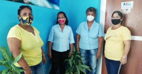 Mitin en  los Joven Club de Manzanillo en apoyo a la Revolución cubana - Joven Club Granma