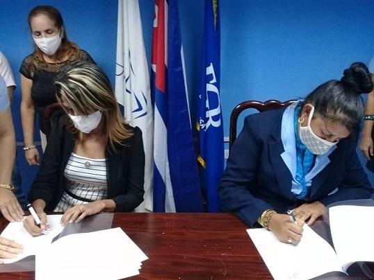 Convenio de colaboración de la Fiscalía Provincial y los Joven Club de Computación y Electrónica Granma
