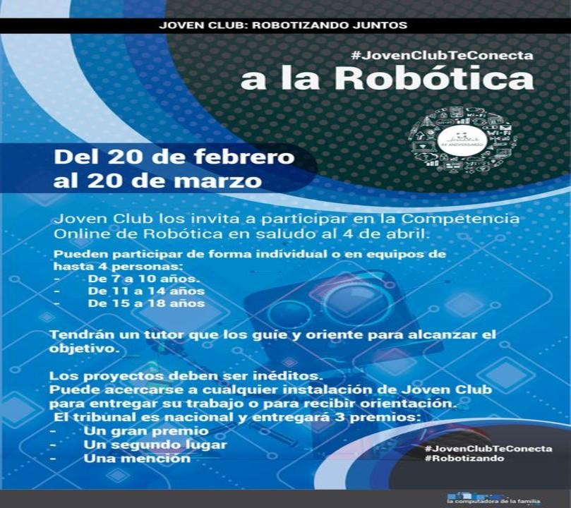 Convocatoria a concurso nacional de robótica