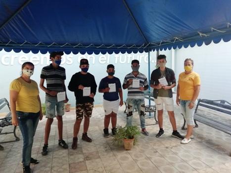 Finalizan cursos de formación en el Joven Club Campechuela 1