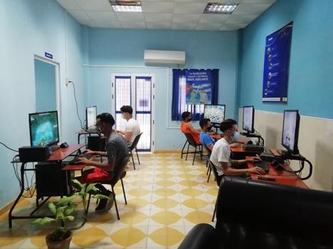 Actividades en saludo al aniversario 30 del Palacio Central de Computación.