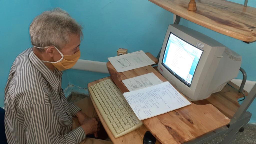 Historiador de Buey Arriba colaborando en EcuRed