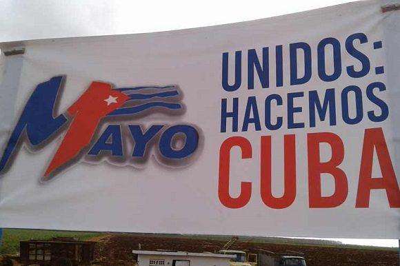 La Central de Trabajadores de Cuba y sus Sindicatos Nacionales convocan a nuestro pueblo a celebrar el Día Internacional de los Trabajadores