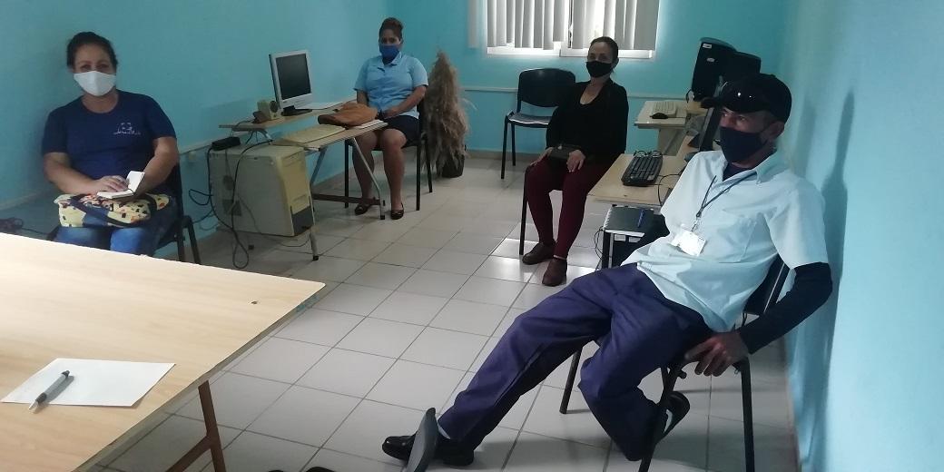Acciones de capacitación en etapa de pandemia