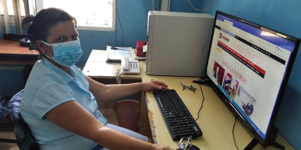 Sobre la importancia de las TIC,comenta trabajadora de Joven Club
