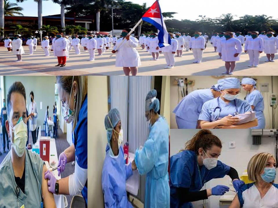 Homenaje a nuestras enfermeras.