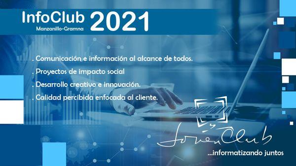 Realizan los Joven Club en Manzanillo Infoclub Municipal 2021.