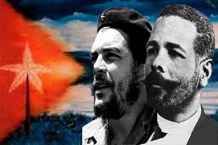 Maceo y Che, siempre junto a nosotros.