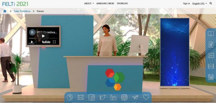 Fevexpo: primera plataforma cubana para eventos virtuales.