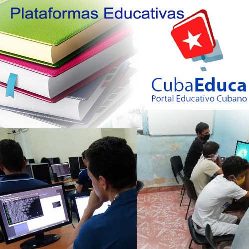 Una plataforma educativa disponible, permite  al usuario crear actividades.